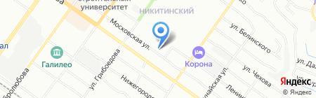 Детский сад №303 на карте Новосибирска