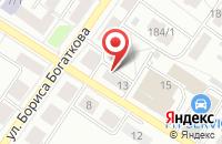 Схема проезда до компании Сибнедра в Новосибирске