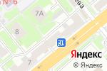 Схема проезда до компании Mandarin в Новосибирске
