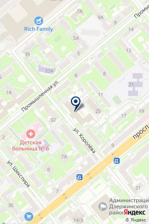 ТРАНСПОРТНО-ЭКСПЕДИЦИОННАЯ КОМПАНИЯ ВОЯЖЕР ПЛЮС на карте Новосибирска