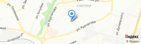 Детский сад №30 на карте Новосибирска