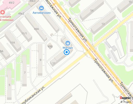 Управляющая компания «МКС-Новосибирск» на карте Новосибирска