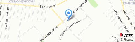 Просторный на карте Новосибирска