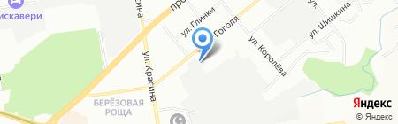 Lyubimov на карте Новосибирска