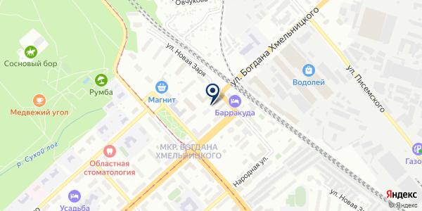Участок №1 на карте Новосибирске