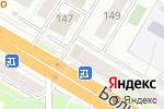 Схема проезда до компании Служба ремонта на дому в Новосибирске