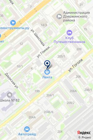 ТРАНСПОРТНОЕ ПРЕДПРИЯТИЕ АВТОТЕРМИНАЛ на карте Новосибирска