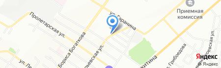 Boxer Subaru Repair Shop на карте Новосибирска