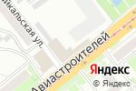 Схема проезда до компании Магазин товаров для рыбалки и охоты в Новосибирске