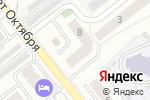 Схема проезда до компании Достояние в Новосибирске