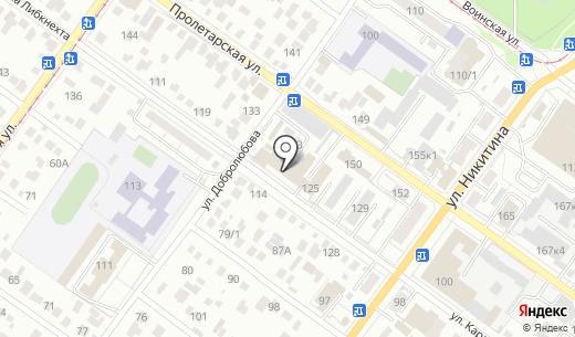 Милеон. Схема проезда в Новосибирске