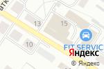 Схема проезда до компании TypeR Intergroup LTD в Новосибирске