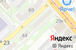 Схема проезда до компании Электрик на дом в Новосибирске