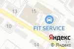 Схема проезда до компании Обьавтоторг в Новосибирске