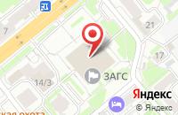 Схема проезда до компании Сова в Новосибирске