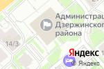 Схема проезда до компании Банчетто в Новосибирске