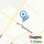 Бош Авто Сервис на карте Новосибирска