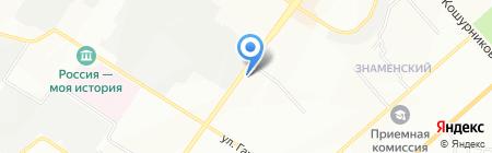 Юлия на карте Новосибирска