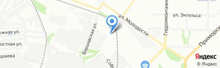 Тигр на карте Новосибирска