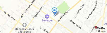 СВ-Дизель на карте Новосибирска