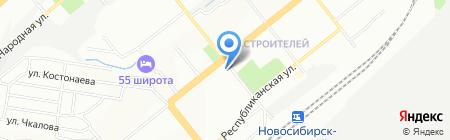 Семена Успеха на карте Новосибирска