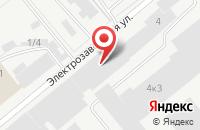 Схема проезда до компании Универ-Сиб в Новосибирске