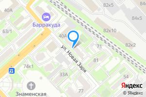 Однокомнатная квартира в Новосибирске м. Заельцовская, улица Новая Заря, 40