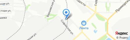 Бизнес Партнер на карте Новосибирска