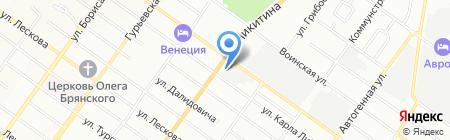СИБЦЕМЕНТ на карте Новосибирска