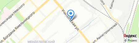 Логос на карте Новосибирска