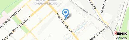 Банкомат БАНК УРАЛСИБ на карте Новосибирска