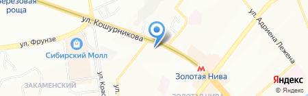 Светлые окна на карте Новосибирска
