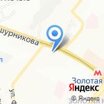 КиТ на карте Новосибирска