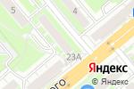Схема проезда до компании АВерно в Новосибирске