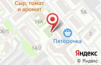 Схема проезда до компании Колымская в Хабаровске