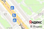 Схема проезда до компании Радуга в Новосибирске