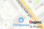 Схема проезда до компании Капитал в Новосибирске