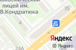 Схема проезда до компании Mark collection в Новосибирске