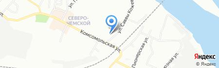 Элсико на карте Новосибирска