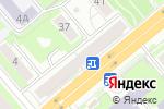Схема проезда до компании Канцелярский дом в Новосибирске
