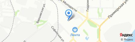 Мир покупок на карте Новосибирска