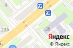 Схема проезда до компании Лагманная в Новосибирске