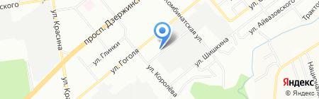 Рос на карте Новосибирска