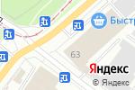 Схема проезда до компании СИБДОРОГИ в Новосибирске