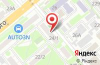 Схема проезда до компании Сияние в Новосибирске