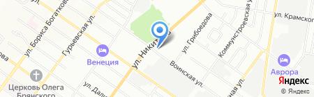 Далмэкс Трейд на карте Новосибирска
