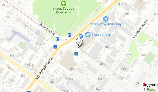 Далмэкс Трейд. Схема проезда в Новосибирске