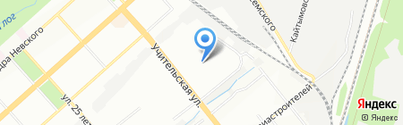 Детский сад №430 на карте Новосибирска
