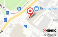 Схема проезда до компании Риц в Новосибирске