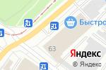 Схема проезда до компании Замки в Новосибирске